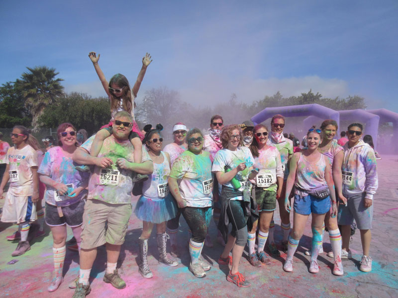 Color Me Rad 5K Race!